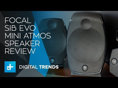 Focal SIB EVO Mini Atmos Speakers - Hands On Review