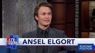 Ansel Elgort Loves His Names Anagram: Legal Stoner