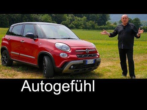 Fiat 500L Cross FULL REVIEW MPV Facelift new 500 L neu 2018 - Autogefühl