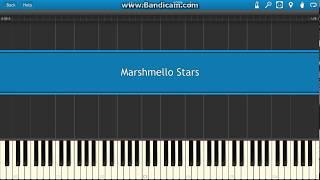 Marshmello Stars Piano