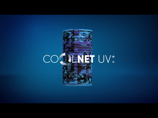 Видео Бандана Buff Coolnet UV+ speckle black