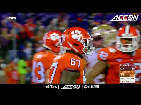 Florida State vs Clemson College Football Condensed Game 2017