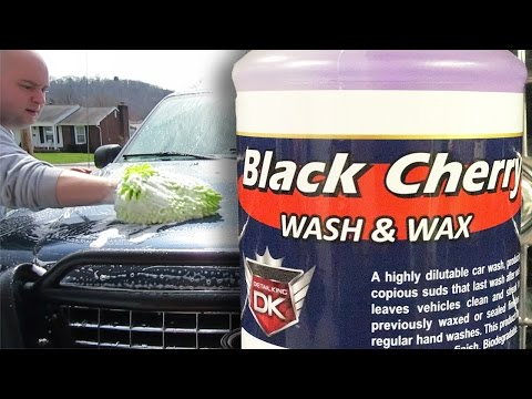 DETAIL KING – Black Cherry Wash & Wax FULL REVIEW & FULL RESULTS – Auto Detailing Videos