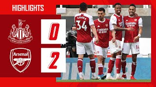 Newcastle United 0-2 Arsenal Pekan 34