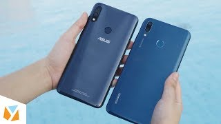 Asus Zenfone Max Pro (M2) ZB631KL vs Huawei Y9 (2019) Comparison Review