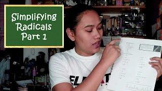 Grade 9 Math | How to Simplify Radicals part 1 | Team Lyqa