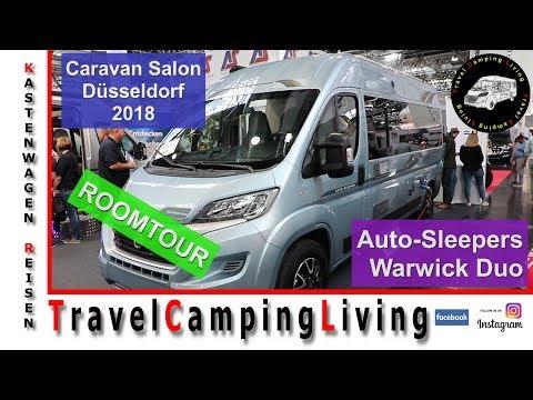 Auto-Sleepers Warwick Duo, Roomtour, Caravan Salon Düsseldorf 2018, Hecksitzgruppe, Backofen