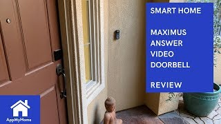 Maximus Answer DualCam Video Doorbell Unboxing and Review