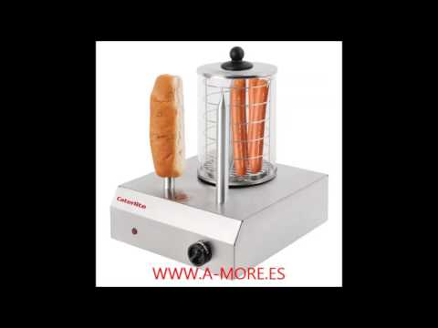 Máquina de Perritos Calientes hot-dogs Profesional Caterlite CD266  en acero inoxidable en Alicante