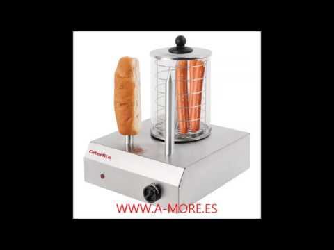 Máquina de Perritos Calientes hot-dogs Profesional Caterlite CD266  en acero inoxidable en Alicante