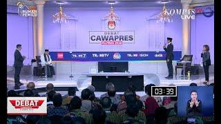 DEBAT PILPRES 2019 - Sandiaga Ucapkan Selamat Ultah ke Maruf Amin