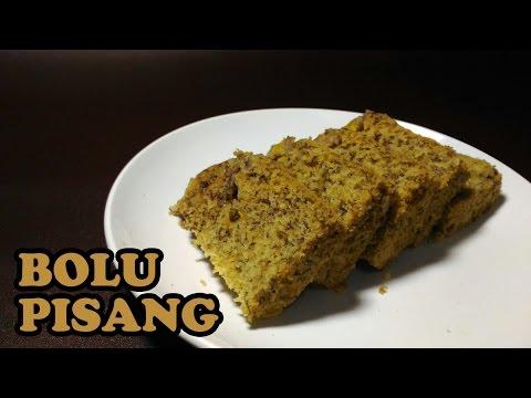 Video Resep Kue Bolu Pisang Kukus Yang Lembut dan Enak HD 720P