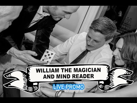 William - Magician & Mind Reader Video