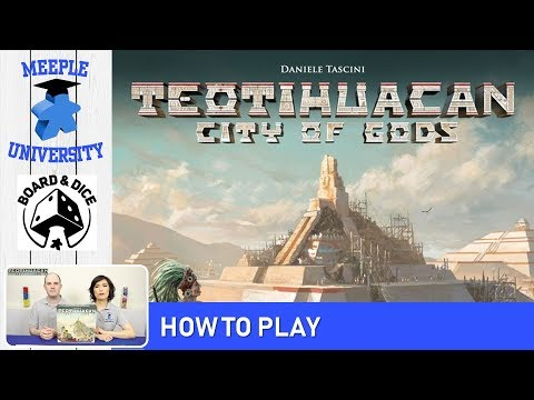 Teotihuacan City of Gods Board Game – How to Play