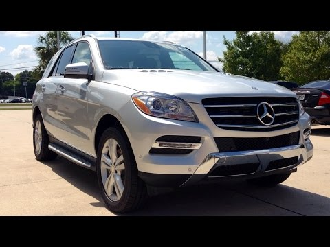 2015 Mercedes-Benz M-Class ML350 Full Review, Start Up, Exhaust