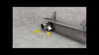 BLÜCHER® Drain Domestic WaterLine channel for liquid membrane