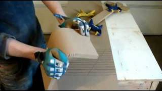 Kerfing 101 - How to Kerf MDF for your subwoofer enclosure - FULL Detail - Car Audio Fabrication CAF