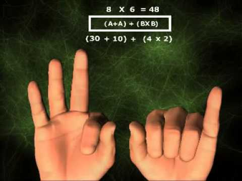 Video belajar perkalian menggunakan jari tangan