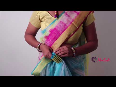 How To Wear Saree For Wedding   How To Drape South Indian Bridal Saree   New Look