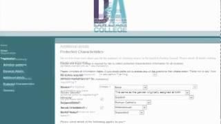 Registering Online