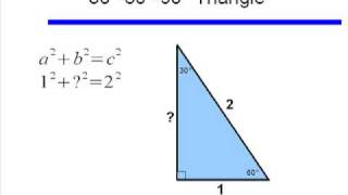 Important Angles: 30, 45, And 60 Degrees