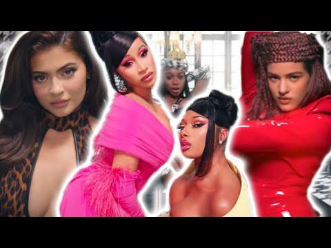 Kylie Jenner, Rosalía y Normani Protagonizan Video de Cardi B #WAP