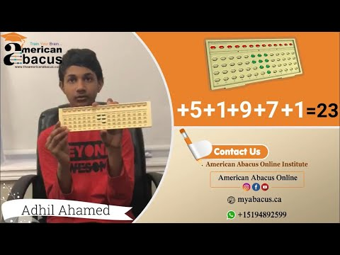 Learn Abacus online stay at home