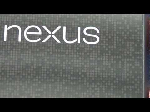 Nexus 4 - die Glasrückseite im Detail