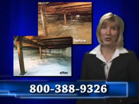 TV Spot for Woods Basement Systems.