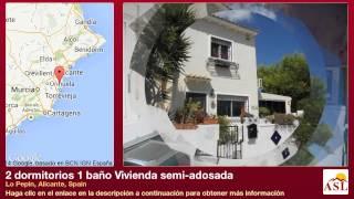 preview picture of video '2 dormitorios 1 baño Vivienda semi-adosada se Vende en Lo Pepin, Alicante, Spain'