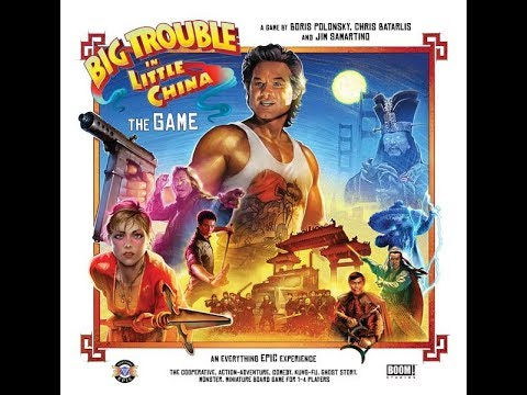 Tatooine Tableflip Unboxes Big Trouble in Little China The Game