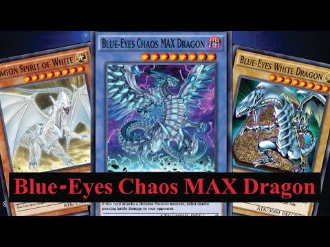 (Yu-Gi-Oh! Duel Links)รีวิว Blue-Eyes Chaos MAX Dragon ยอดมังกรไร้ผู้ต้าน(EP.468)