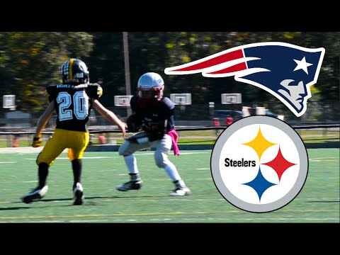 Steelers Vs Patriots | JV Football