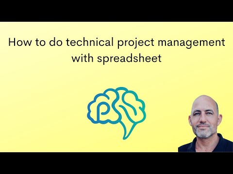 Project Management with Spreadsheets