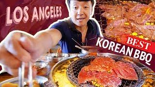BEST KOREAN BBQ & Ox Bone Soup in Los Angeles | Japanese CLOUD Pancakes
