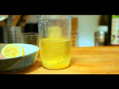 Video Homemade Mayonnaise in 2 Minutes or Less