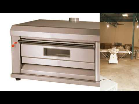 Commercial Gas Bakery Oven