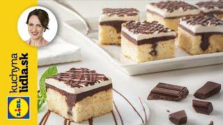 Koláč s čokoládou a tvarohovým krémom | Adriana Poláková | Kuchyna Lidla