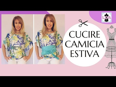Fare una camicetta in 30 minuti | DIY Shirt