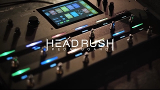 Headrush HeadRush Pedalboard - Video