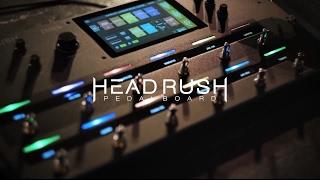 Headrush HeadRush Pedalboard - Video