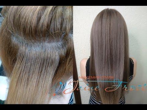 Формула окрашивания волос в русый цвет #евгенияморозова