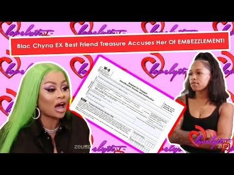 Blac Chyna EX Best Friend Treasure Goes Viral After Accusing Her Of EMBEZZLEMENT!+ #Fullbreakdown!