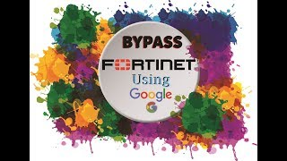 How to bypassunblock websites fortiguard webfilter using simple bypass fortinet in no time and access blocked site ccuart Images