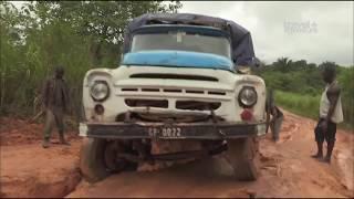 """Самые Страшные и Жуткие Дороги в Мире """"Самые опасные путешествия Гвинея"""""""