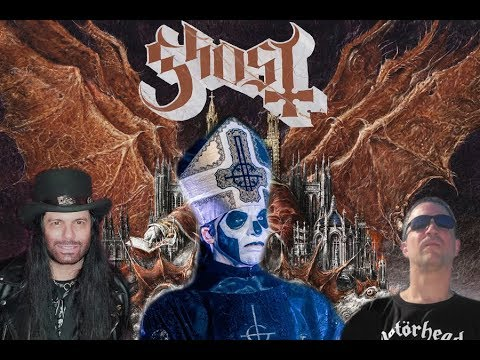 Ghost 'Prequelle' Album Review-Jimmy Kay & Neil Turbin-The Metal Voice