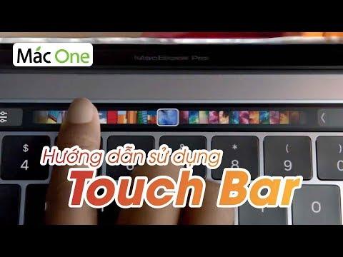 Hướng dẫn sử dụng Touch bar cho người mới dùng Macbook macOS