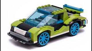 LEGO 31074 SportsCAR alternate moc building tutorial