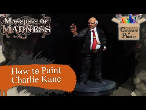 How to Paint Charlie Kane | Mansions of Madness Ep. 11 | Painting