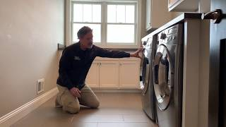 How To Avoid A Flood From Your Upstairs Laundry Room